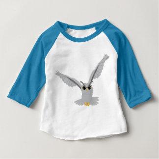 Camiseta Para Bebê Coruja