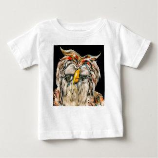 Camiseta Para Bebê Coruja graciosa