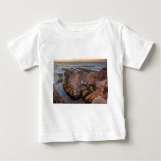 Camiseta Para Bebê Costa áspera Montana De Oro