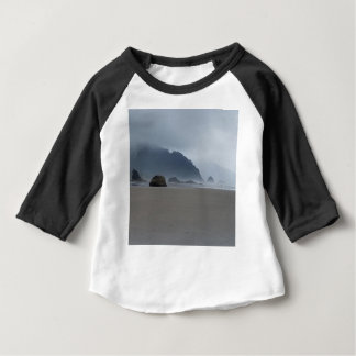 Camiseta Para Bebê Costa de Oregon do ponto do abraço em um dia