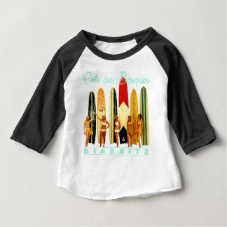 Camiseta Para Bebê Costa dos Basco Biarritz