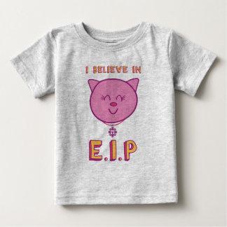 Camiseta Para Bebê Cottonball - eu acredito em E.I.P