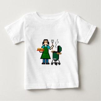 Camiseta Para Bebê Cozinheiro da mulher BGE
