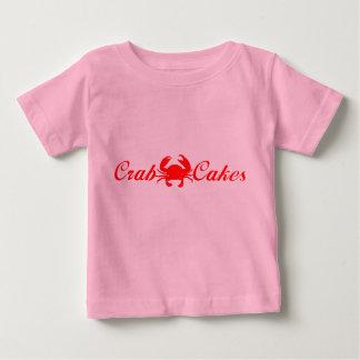 Camiseta Para Bebê Crabcakes