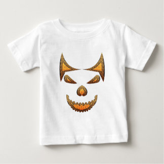 Camiseta Para Bebê Crânio