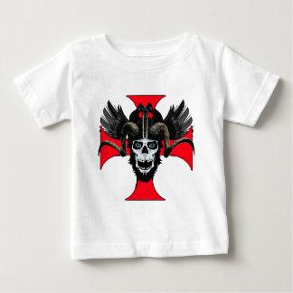 Camiseta Para Bebê Crânio 3 TW da ram