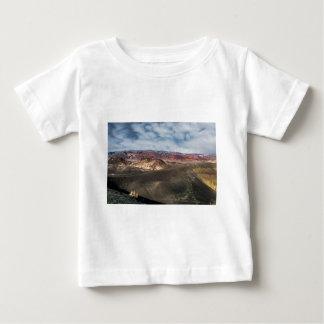Camiseta Para Bebê Cratera o Vale da Morte de Ubehebe