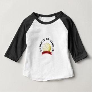 Camiseta Para Bebê crave-o e goste- d voleibol