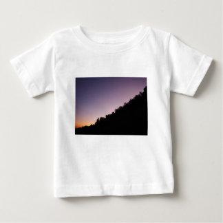 Camiseta Para Bebê Crepúsculo do parque da garganta de Franklin