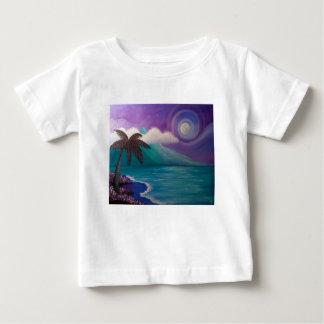 Camiseta Para Bebê Crepúsculo no paraíso