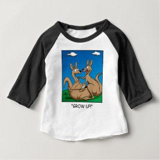 Camiseta Para Bebê Cresça acima!