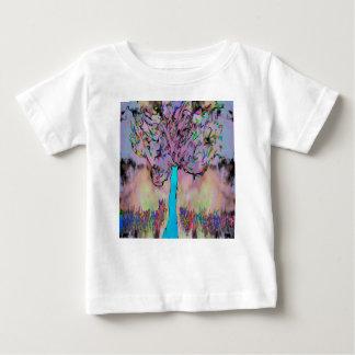 Camiseta Para Bebê crescimento selvagem