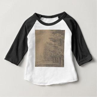 Camiseta Para Bebê Criação da paisagem do Jesus Cristo