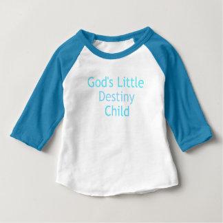 Camiseta Para Bebê Criança do destino