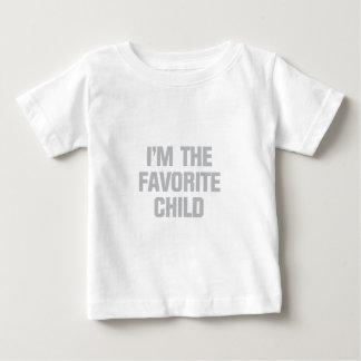 Camiseta Para Bebê Criança favorita