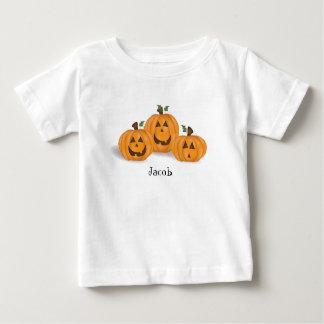 Camiseta Para Bebê Criança T da lanterna de Jack O