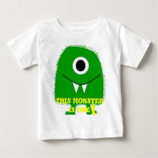 Camiseta Para Bebê Crianças/camisa monstro dos miúdos