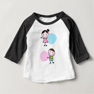 Camiseta Para Bebê Crianças maravilhosas/t-shirt criativos