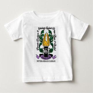 Camiseta Para Bebê Crista média dos guardiães de Not'Cho