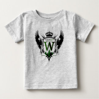 Camiseta Para Bebê Crista noroeste