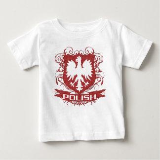 Camiseta Para Bebê Crista polonesa de Eagle