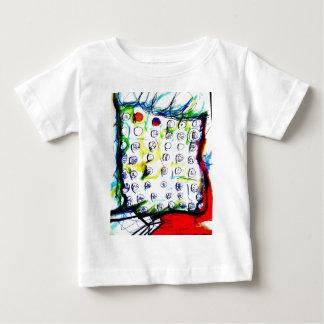 Camiseta Para Bebê Cristais do tempo e a sopa do quantum pela