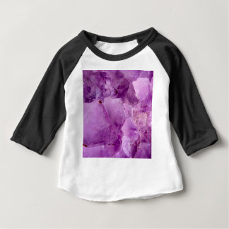 Camiseta Para Bebê Cristais violetas de Kryptonite