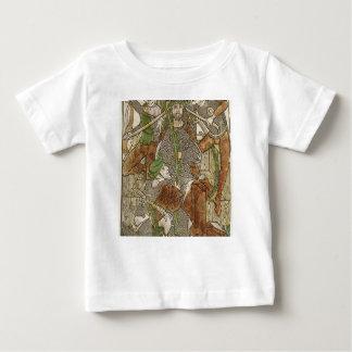 Camiseta Para Bebê Cristo coroado com espinhos