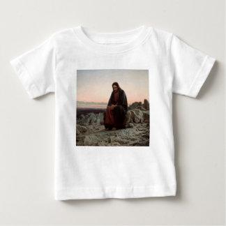 Camiseta Para Bebê Cristo de Ivan Kramskoy- nas belas artes da região