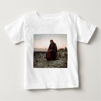 Camiseta Para Bebê Cristo na região selvagem - belas artes de Ivan