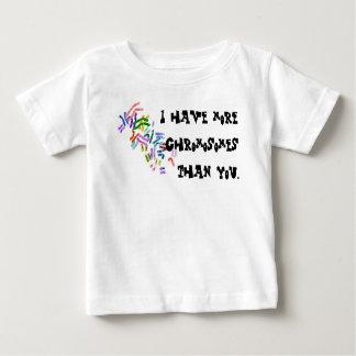 Camiseta Para Bebê Cromossomas