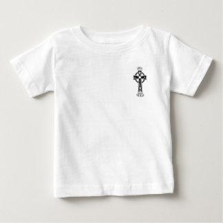 Camiseta Para Bebê Cruz celta