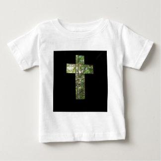 Camiseta Para Bebê Cruz da janela