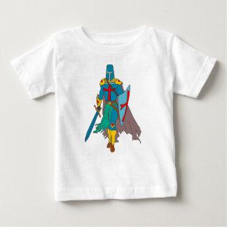 Camiseta Para Bebê Cruzado