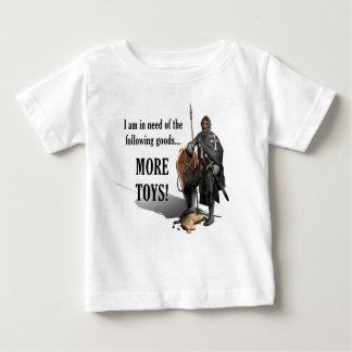 Camiseta Para Bebê Cruzado da fortaleza - mais brinquedos - bebê