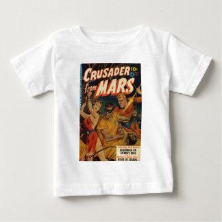 Camiseta Para Bebê Cruzado de Marte