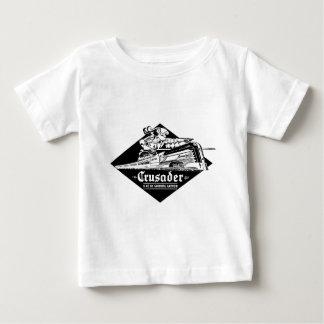Camiseta Para Bebê Cruzado Streamliner da estrada de ferro da leitura