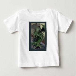 Camiseta Para Bebê Cthulhu cavalo-força de aumentação Lovecraft