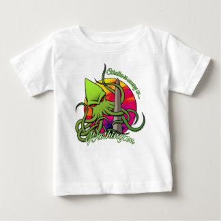 Camiseta Para Bebê Cthulhu que come o Obelisk na C.C. de Washington