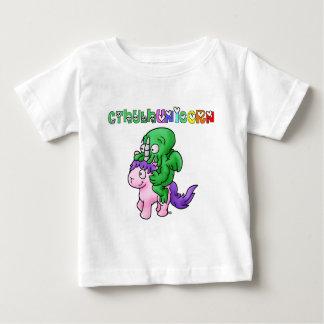 Camiseta Para Bebê CthulhUnicorn - Jogos de Palavras - François