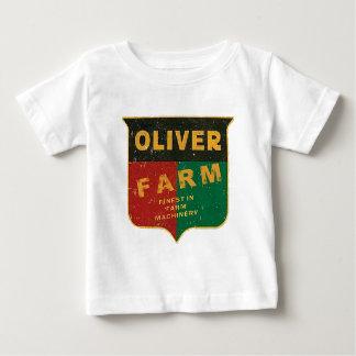 Camiseta Para Bebê Cultivo de Oliver