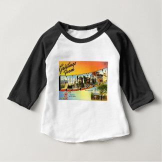 Camiseta Para Bebê Cumprimentos de Delaware