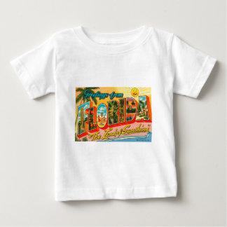 Camiseta Para Bebê Cumprimentos de Florida