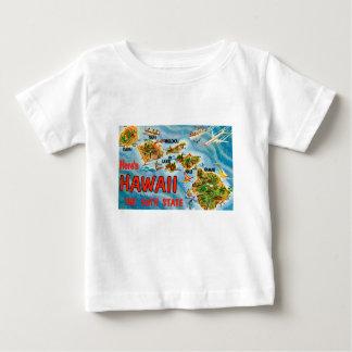 Camiseta Para Bebê Cumprimentos de Havaí