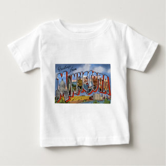 Camiseta Para Bebê Cumprimentos de Minnesota