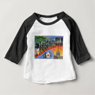 Camiseta Para Bebê Cumprimentos de Mississippi