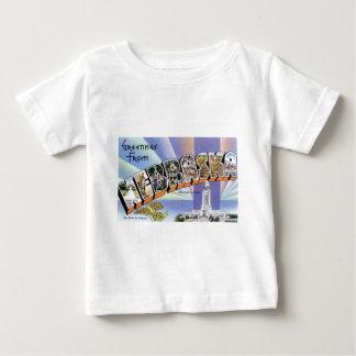 Camiseta Para Bebê Cumprimentos de Nebraska