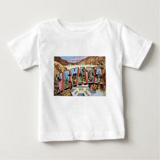 Camiseta Para Bebê Cumprimentos de Nevada