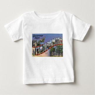 Camiseta Para Bebê Cumprimentos de New Hampshire