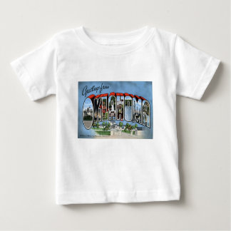 Camiseta Para Bebê Cumprimentos de Oklahoma